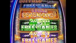 New Buffalo Diamond Slot Machine | Aristocrat Slots | Las Vegas (2019)