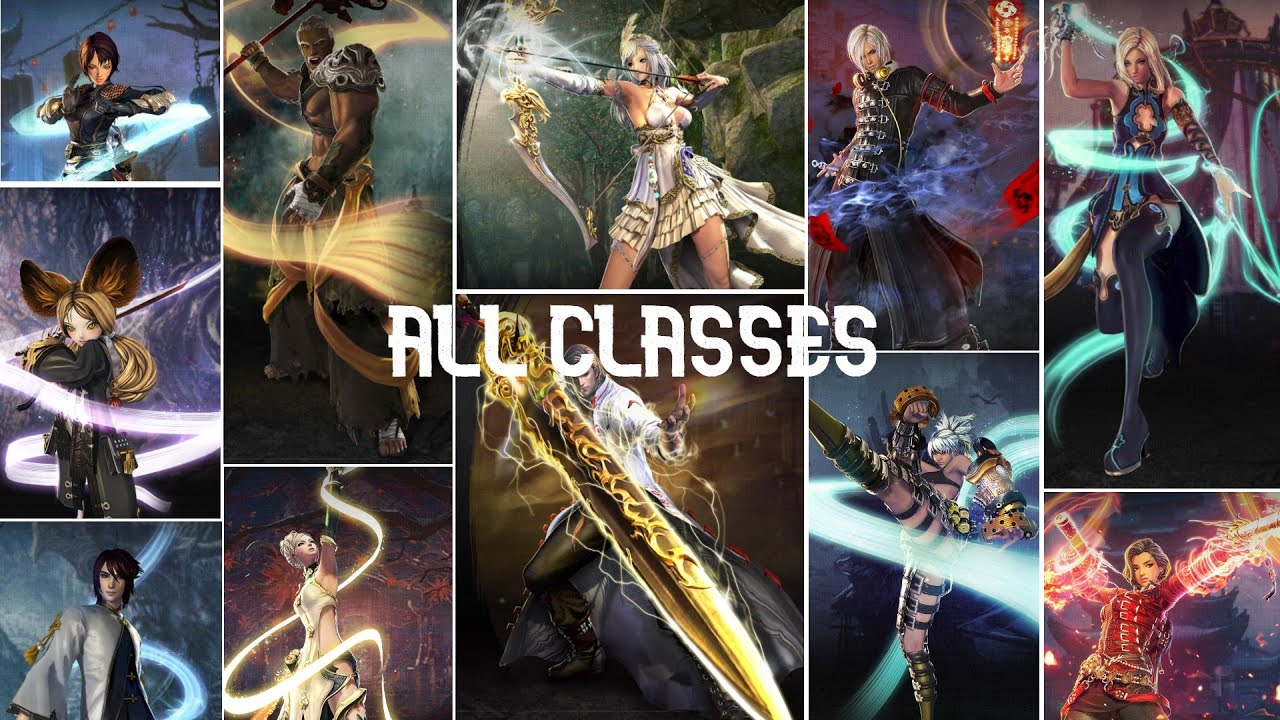 Download Blade and Soul: All Classes Overview UPDATE 2021