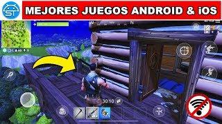 Top Mejores Juegos SIN INTERNET para Android & iOS, CARRERAS, Fortnite para Android [#7]   SaicoTech