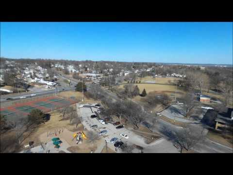 Bebop Drone over North Omaha Park