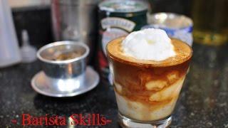 Bài 12 : [Barista Skills] Học cách pha chế cà phê Cốt Dừa (Cafe cốt dừa) nổi đình nổi đám