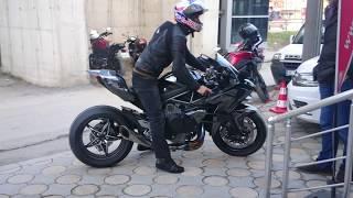 Kenan Sofuoğlu H2R DÜZCE Yamaha Dadaş motor.