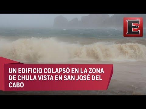 Tormenta tropical Lidia azota Los Cabos y La Paz, BCS