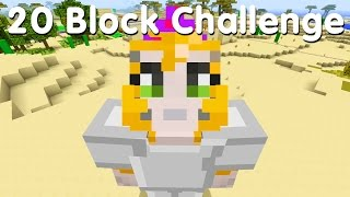Minecraft PS4 - 20 Block Challenge - Am I Going Crazy? (24)