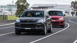 2019 Range Rover Sport vs 2019 Porsche Cayenne S