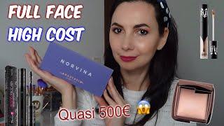 MI TRUCCO USANDO SOLO PRODOTTI COSTOSI! Full Face da quasi 500€ 😱 | chiore83