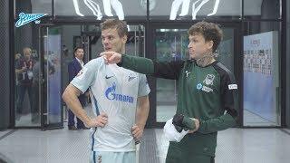 Скрытая камера «Зенит-ТВ» на стадионе «Краснодар»