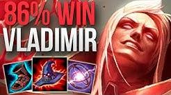 CHALLENGER 86% WIN RATE VLADIMIR MAIN | CHALLENGER VLADIMIR MID GAMEPLAY | Patch 9.24 S9