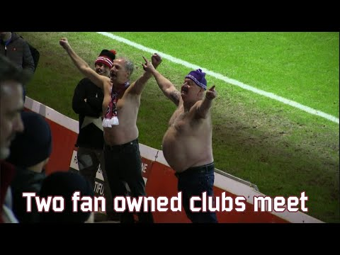 Two fan owned clubs meet (FC United of Manchester - Austria Salzburg)