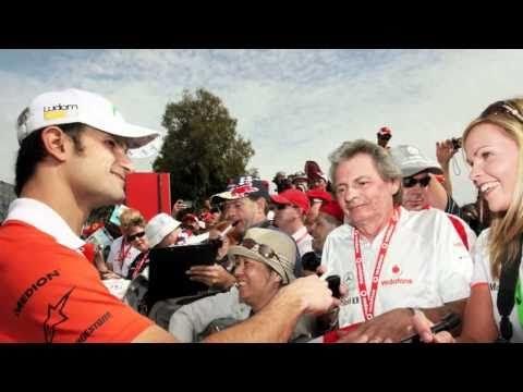 Interview with Force India's Vitantonio Liuzzi