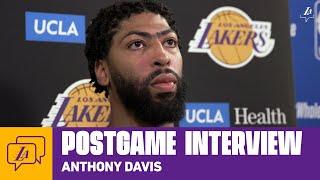 Lakers Postgame: Anthony Davis (8/3/20)