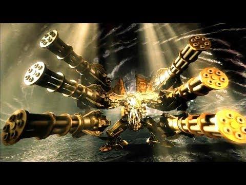 西游记你不知道的事,定海神针化身超级机器人,六根加特林,狂扫千年树妖!