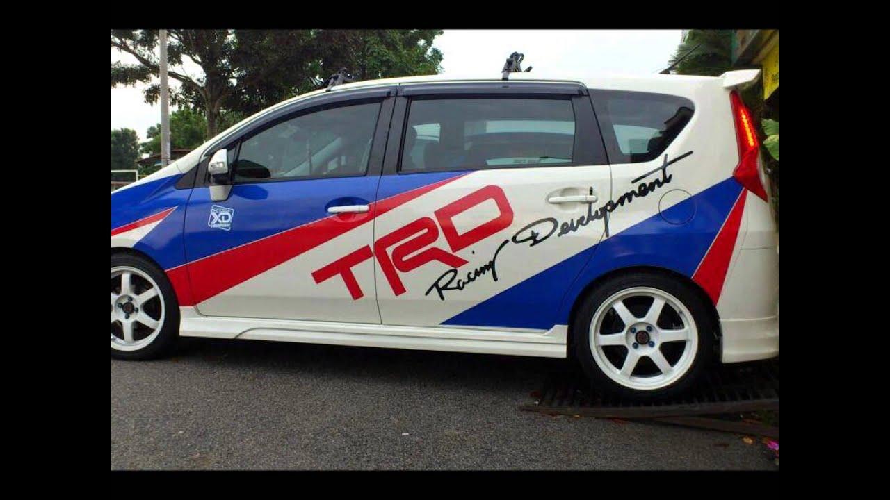 Viva car sticker design - Video Kenangan Alza Satu Persaudaraan 2013