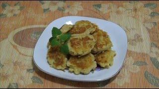 Домашние видео рецепты - вкусные оладьи с яблоками в мультиварке