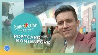 Postcard of Vanja Radovanović from Montenegro - Eurovision 2018