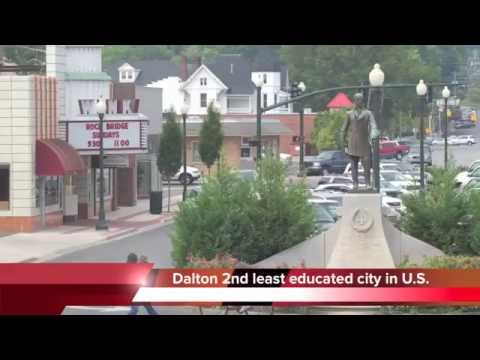 Dalton, Georgia - the 2nd dumbest city in the United States