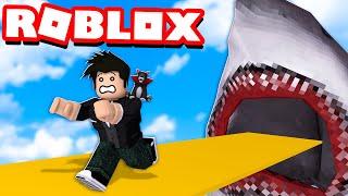 LOKIS FUGINDO DO TUBARÃO GIGANTE | Roblox - Epic Minigames