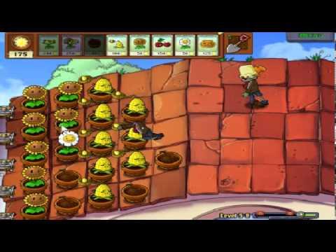 Plants vs zombies (Trồng cây bắn zombie) - Cấp độ 5-8 (Game Việt Hóa)