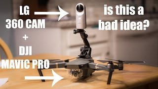DJI MAVIC PRO + 360 CAM - IT WORKS!