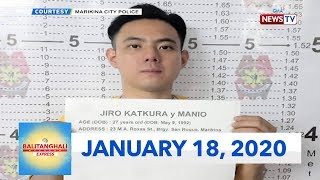 Balitanghali Weekend Express: January 18, 2020 [HD]