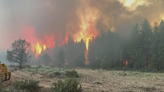 Bootleg fire in Klamath grows to 140,000+ acres