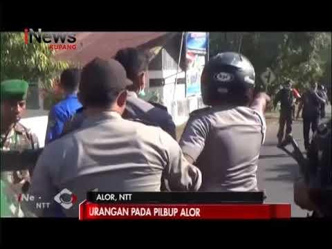 INews NTT - Ricuh, Rapat Pleno Rekapiltulasi Perhitungan Suara Pilkada Alor