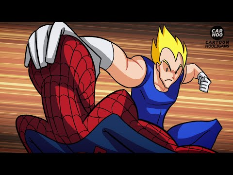 Dragon Ball Z VS Marvel Superheroes - What If Battle [ DBZ P