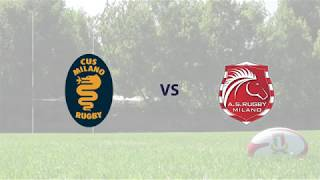 CUS Milano Rugby vs AS Rugby Milano