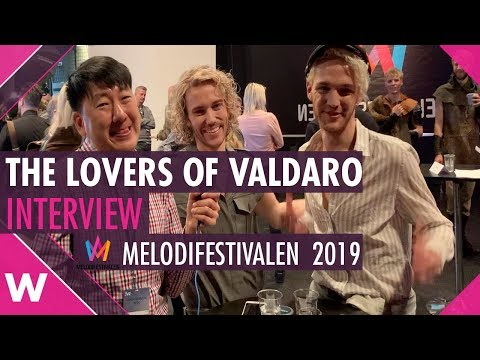 """The Lovers of Valdaro """"Somebody Wants"""" Interview @ Melodifestivalen 2019 