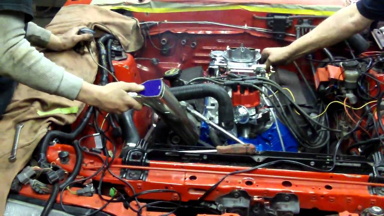 stiff's ford mustang foxbody carbureted 302 (5 0 l) first start-up - youtube