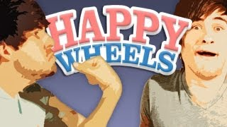 SMOSH PLAYS HAPPY WHEELS (Gametime w/ Smosh)