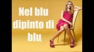 Jessica Brando - Nel blu dipinto di blu (Volare) - (with lyrics)
