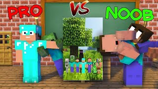 Monster School : DRAWING Noob vs Pro - Minecraft Animation