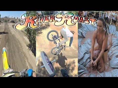 BEST DIRT JUMP CONTEST IN A LONG TIME! RIVER ROAST 2017