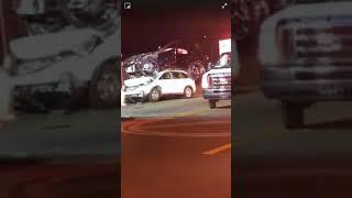 Florida Classic Car Crash 2018