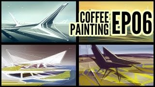 CoffeePainting: Abstract architecture