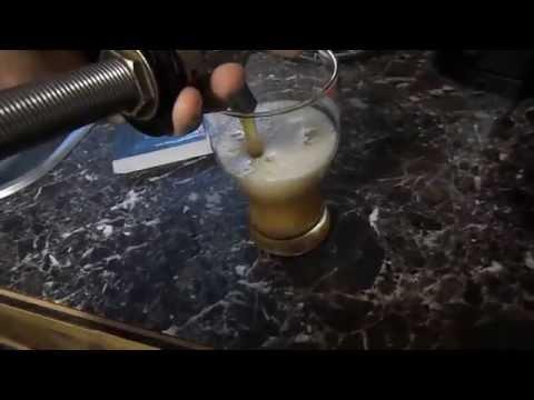 Делаем домашнее пиво прозрачным