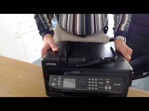 Epson WF-2540 All In One Printer Demo Video