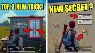 Pubg Mobile Top 3 New Secret Tricks ! Only 0.5 % People Know This Tricks !