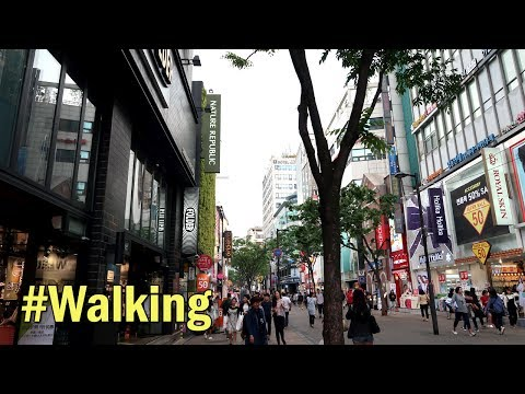 Myeong-dong Shopping Alley(명동 쇼핑골목), Seoul Top 10 Attractions : Walking in Seoul, South Korea