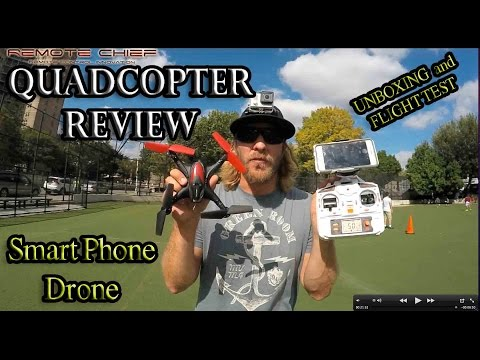 Quadcopter WonderTech Nebula Iphone/Android Compatible Drone Unbox n Review