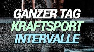 Ketogen Sport - ganzer Tag - Krafttraining: Beine, Brust, Bizeps - Intervalle