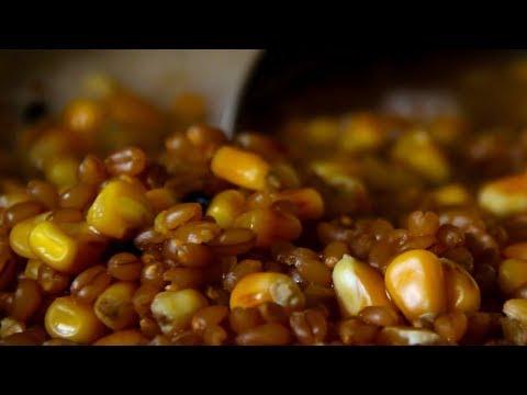 Как приготовить кукурузу и пшеницу для рыбалки в домашних условиях