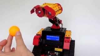 Wall-E mit Pixy-Kamera fischertechnik
