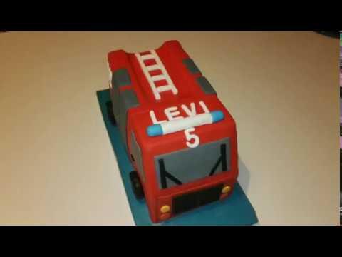 Wie Backe Ich Ein Feuerwehrauto Feuerwehrkuchen Motivkuchen