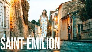 Saint-Émilion France Bordeaux-The most beautiful wine region!