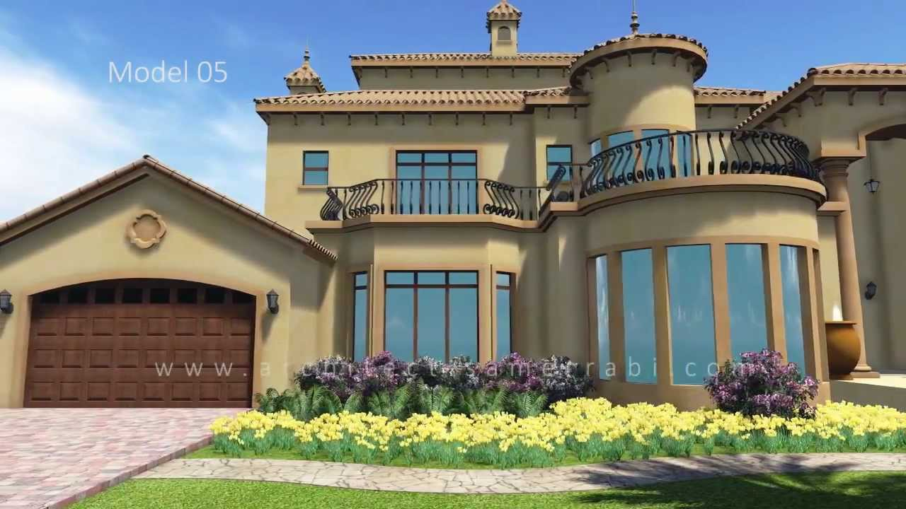 Unique tuscan house amazing landscape abu dhabi for Classic house 2016