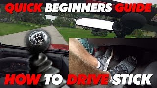 How To Drive Manual - Jeep Wrangler TJ