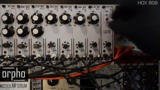 ORPHO MODULAR DRUM I ANALOG EURORACK DRUM MACHINE IN DOEPFER FRAME