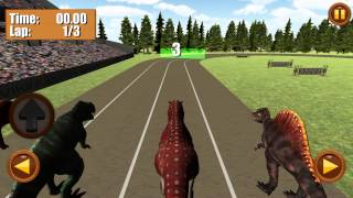 Jurassic Dinosaur Race 3D | IOS and ANDROID Gameplay Video
